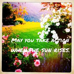 May take action when the sun rises.
