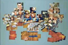 David Hockney  collage