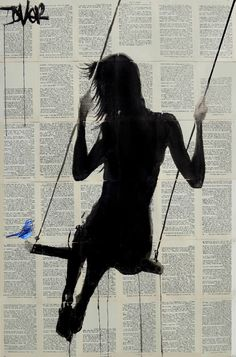 "Saatchi Art Artist LOUI JOVER; Drawing, ""the freedom of sometimes again"" #art"