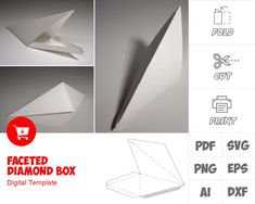 Angel Wings Costume, Cosplay Wings, Paper Box Template, Box Templates, Paper Artwork, Christmas Costumes, Printable Paper, Paper Cutting