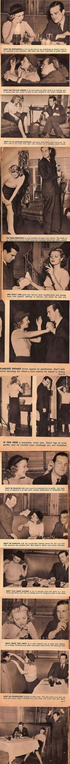 13 hilarious dating tips from 1938