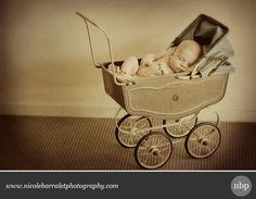 Baby Vintage Pram Shot