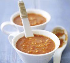 Asian tomato & rice soup  Tamarind