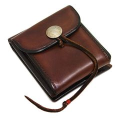Goro's Leather Goods July New Releases: Japanese accessories and jewelry maker, Goro's, just released a few new items for July. Small Leather Wallet, Leather Bag, Leather Wallets, Leather Projects, Leather Crafts, Trunks And Chests, Best Wallet, Leather Pattern, Leather Working