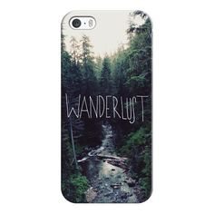 iPhone 6 Plus/6/5/5s/5c Case - Wanderlust Rainier Creek ($35) ❤ liked on Polyvore featuring accessories, tech accessories, iphone case, apple iphone cases, iphone cover case and slim iphone case