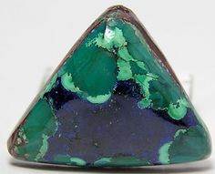 Midnight Blue Azurite Sea Green Chrysocolla  by FenderMinerals,