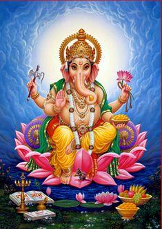 God Hindu Ganesh Ji Photo Frame - DivinePhotos, New Delhi Arte Ganesha, Pintura Ganesha, Shri Ganesh Images, Ganesha Pictures, Lord Ganesha Paintings, Lord Shiva Painting, Krishna Painting, Ganesh Ji Photo, Happy Ganesh Chaturthi Images