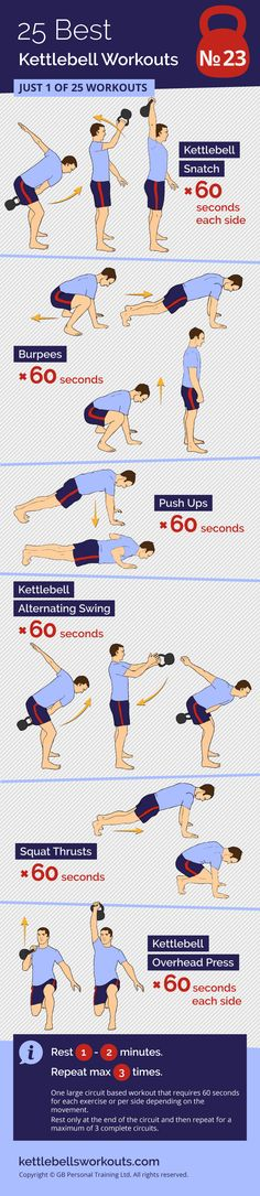 A Big Circuit Kettlebell Workout. One large circuit based workout that requires 60 seconds for each exercise or per side depending on the movement. Rest only at the end of the circuit and then repeat for a maximum of 3 complete circuits.#kettlebell #exercise