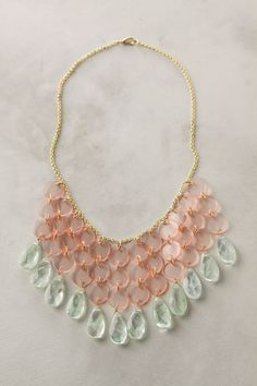 An Anthropologie necklace for $78 that I think is gorgeous