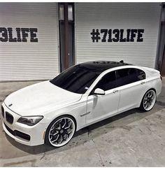 BMW 750 LI shot by DUB Magazine.