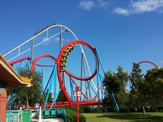 PortAventura rollercoaster