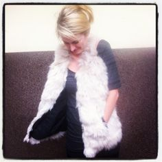 Handmade Leather Fur Folk Vest by KultomaniA on Etsy, $120.00