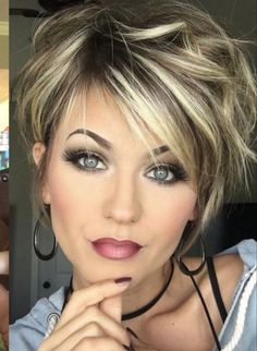 Trending Hairstyles 2019 – Short Layered Hairstyles is a romantic and soft style that is very easy to maintain as it dwells around the natural Related Best Short Hairstyles For 201963 Ideas For Haircut Short Pixie Chic Fine HairSoft Blunt Bobby - Trending Hairstyles, Latest Hairstyles, Short Hairstyles For Women, Bob Hairstyles, Short Layered Hairstyles, Short Layered Bobs, Hairstyles For Fine Hair, Short Hairstyles For Thin Hair, Short Hair With Layers