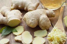 Gember shot met citroen – Living the Green Life Raw Food Recipes, Healthy Recipes, Healthy Food, Green Life, Pretzel Bites, Stuffed Mushrooms, Good Food, Shots, Bread