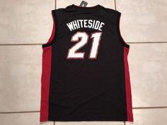 NWT Miami Heat Hassan Whiteside NBA Jersey Men's Large | eBay