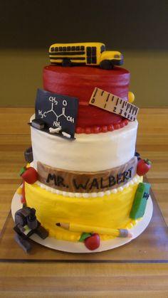 Retirement Cake  Katie Cakes cakepins.com