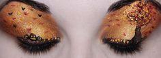 Halloween Eye Makeup   Dump Your Frump