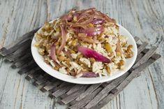 Муджадара это рис с чечевицей Cabbage, Vegetables, Food, Essen, Cabbages, Vegetable Recipes, Meals, Yemek, Brussels Sprouts