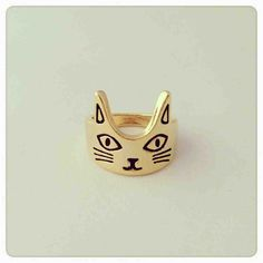 Someone tell Kevin I want a cat ring for Christmas