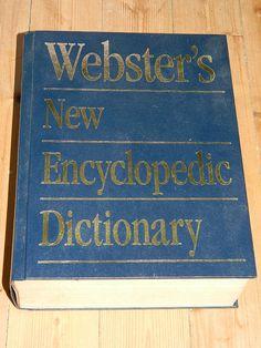 WEBSTER'S New Encyclopedic Dictionary par vintagemadeinFRANCE
