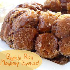Pumpkin Roll Monkey Bread
