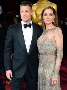 La bague de fiançailles d'Angelina Jolie Pitt