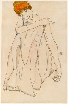 #Egon Schiele #drawing #art