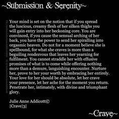 "23 Likes, 1 Comments - Julie Anne Addicott ~ Author (@demonsoulangelheart) on Instagram: ""#lust #crave #julieanneaddicott #poetry #prose #bdsm #submission #serenity #writing #poem #poetry…"""