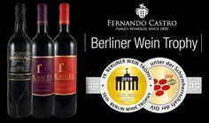 Triple medalla de oro para la bodega Fernando Castro en Berliner Wine Trophy