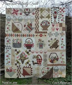 Stitches by Carin: Piece and Plenty quilt top finished