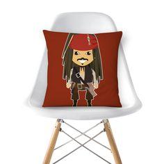 Almofada Jack Sparrow de @estudioagridoce | Colab55