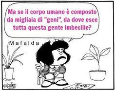 Mafalda ha perfettetamente  ragione