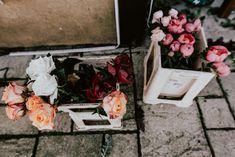 Preps for wedding bouquet