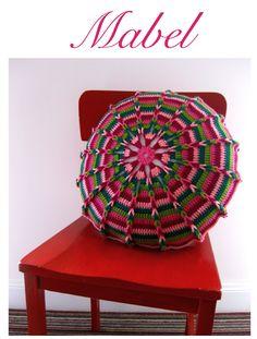 STORE | Sarah London Crochet Mandala, Manta Crochet, Crochet Baby, Baby Blanket Crochet, Diy Crochet, Crochet Pillows, Crochet Cushion Cover, Crochet Afghan, Knit Pillow