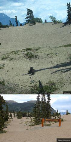 Visit the world's smallest desert in Canada!