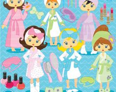 Toppers de cupcake de fiesta Spa spa por MyHeartnSoulBoutique