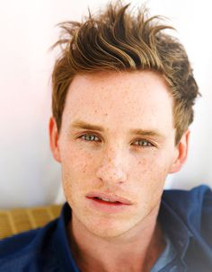 Eddie Redmayne - there's something about this guy's face... I absolutely love his look. It's from a different era, altogether.
