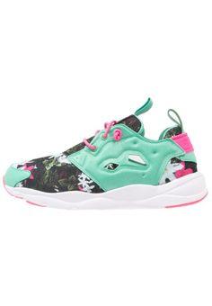 #Reebok #Classic #FURYLITE #Sneaker #low #exotic #teal/solar #pink/white für #Mädchen -