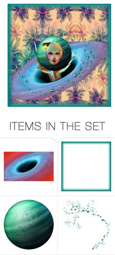"""""""Spinning Head of Deco"""" by dorofromks ❤ liked on Polyvore featuring art"""