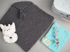★ DIY ★ Poncho bébé en tricot Facile