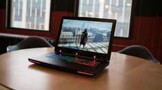 This is the MSI GT72S G Tobii. It uses eye-tracking software so you can play games hands-free. #Technology #TheFuture http://www.techradar.com/reviews/pc-mac/laptops-portable-pcs/laptops-and-netbooks/msi-gt72s-g-tobii-1312776/review