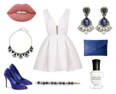 """""""Monarch by Chloe and Isabel"""" by shinycandi ❤ liked on Polyvore featuring Chloe + Isabel, Rebecca Minkoff, Deborah Lippmann and Lime Crime"""