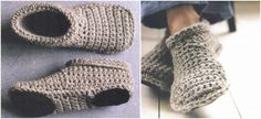 Slipper Boots Free Crochet Pattern [video] | Do It Yourself Ideas