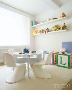 Urban Home Sweet Home: Más habitaciones infantiles en blanco