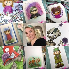 I love to see all off the #artvsartist posts  here is my contribution  #myart #watercolorpainting #promarkerart #copics #illustratör #artistvsart