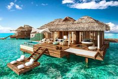 Properties in Jamaica and Mexico are adding overwater accommodations, providing a more accessible option than hotels in the Maldives and the Caribbean.