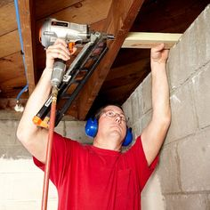 A poor framing job can bring a whole mess of problems, so we asked a professional framing carpenter how to best build basement walls. These were their expert tips for framing basement walls. Old Basement, Small Basement Remodel, Basement Layout, Basement Renovations, Basement Ideas, Basement Designs, Basement Shelving, Basement Kitchenette, Basement Inspiration