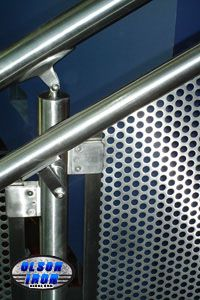 Las Vegas based Olson Iron �Custom Wrought Iron Showroom� supplies Stainless Steel Railing & Residential and Commercial Security Rails in Las Vegas and Henderson Nevada. Stainless Steel Stair Railing, Iron Stair Railing, Steel Stairs, Steel Rod, Wrought Iron, Las Vegas, Awesome, Design, Last Vegas
