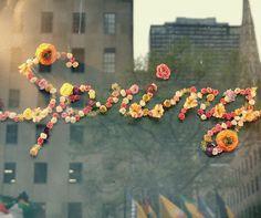 spring  via Blonde Glitter
