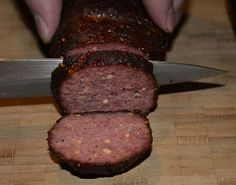Smoked Double Garlic Summer Sausage